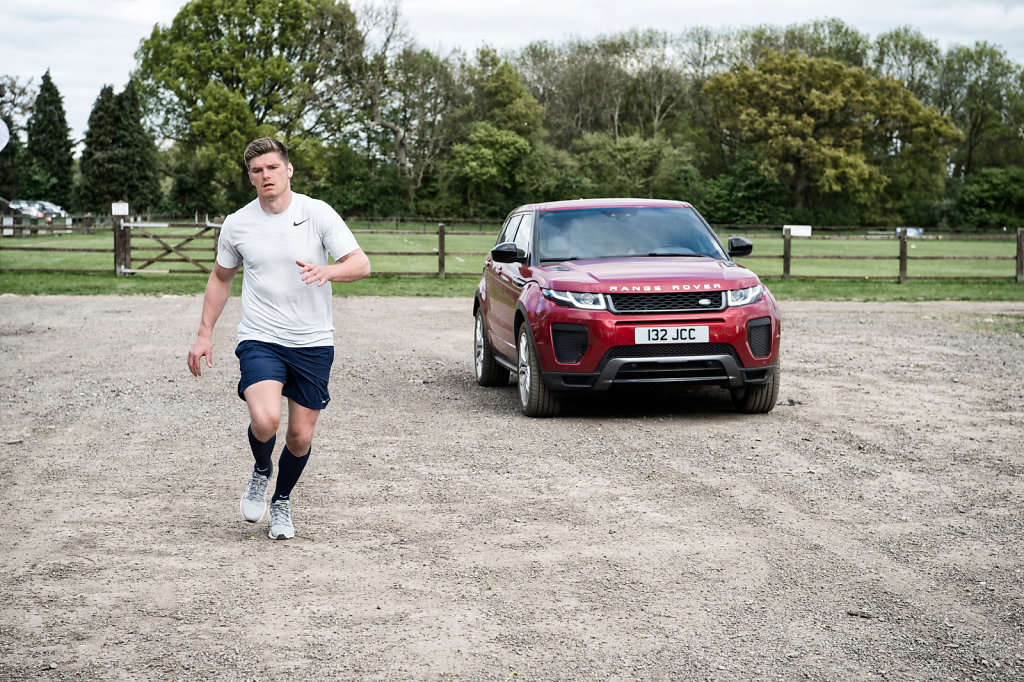 Owen Farrell for Land Rover #4